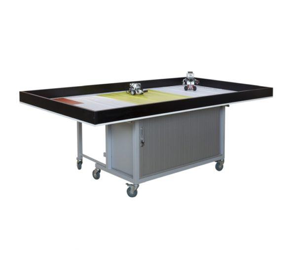 стол по робототехнике с тумбой вид 1