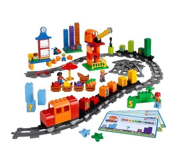 lego duplo поезд 45008 вид 1