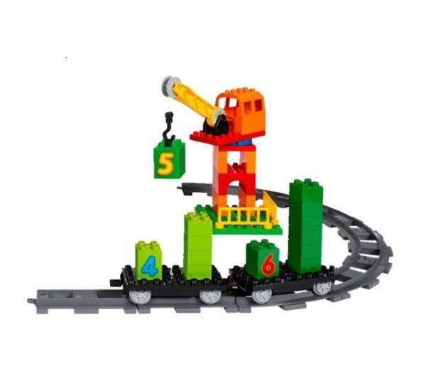 lego duplo поезд 45008 вид 4