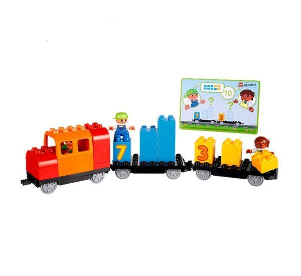 lego duplo поезд 45008 вид 5