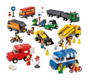 lego транспорт 9333 вид 1