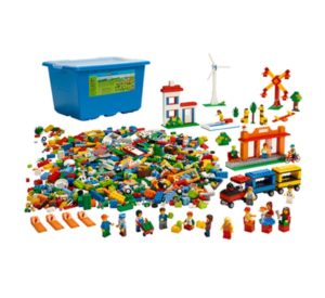 Городская жизнь LEGO 9389 вид 1