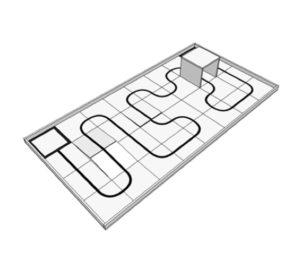 Комплект дополнительных элементов поля для состязаний вид 1