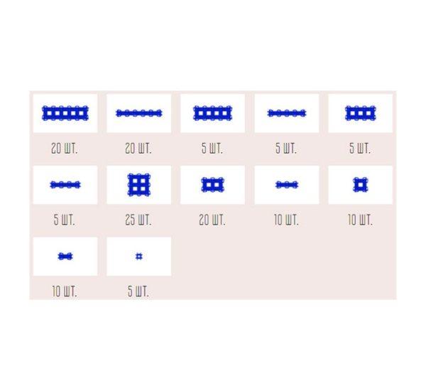 Фанкластик набор Максикластика синий