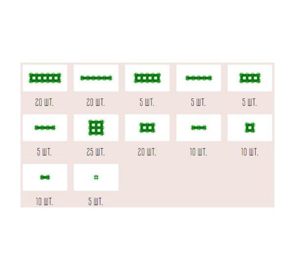 Фанкластик набор Максикластика зеленый