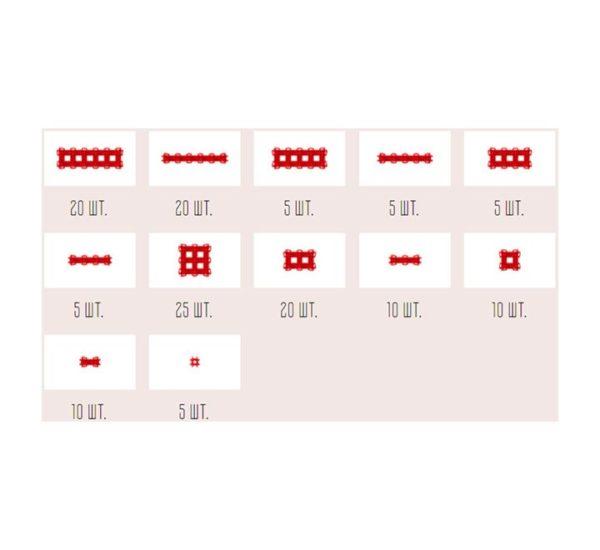 Фанкластик набор Максикластика красный