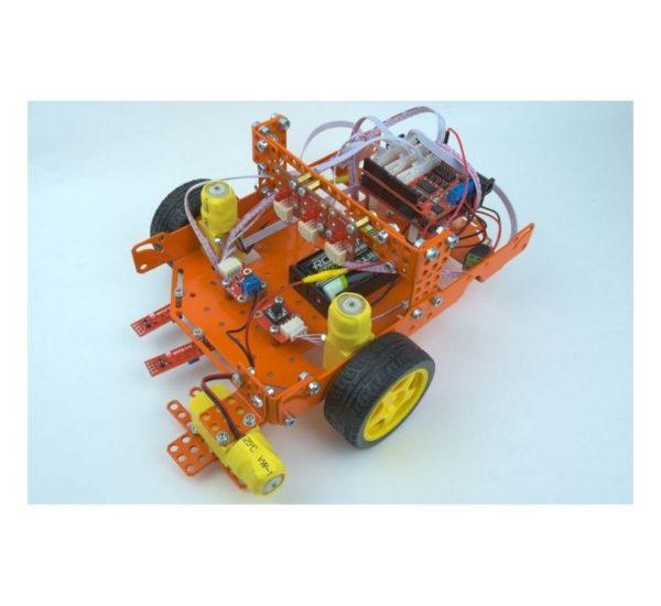 Образовательный конструктор для изучения робототехники на основе универсальных программируемых контроллеров и миникомпьютеров вид 10