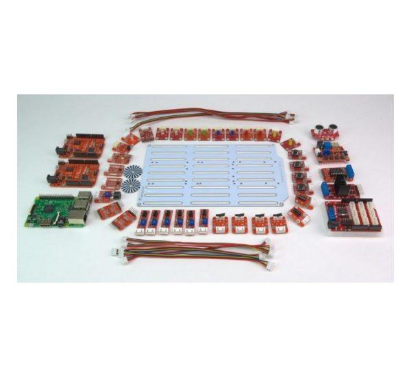 Образовательный конструктор для изучения робототехники на основе универсальных программируемых контроллеров и миникомпьютеров вид 6