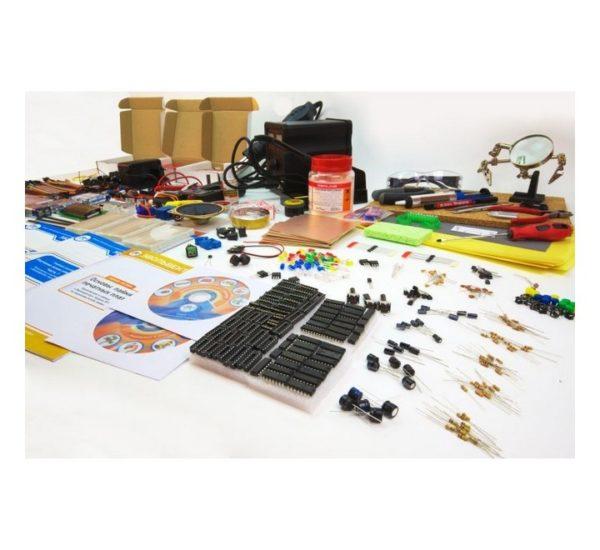 Образовательный набор для изучения управляющей электроники учебных промышленных роботов вид 7