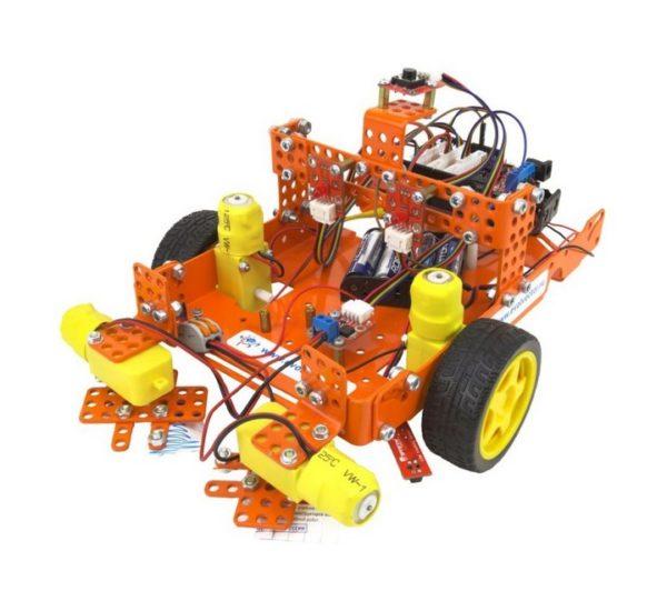 Набор для изучения информационных систем и устройств учебных промышленных роботов вид 2