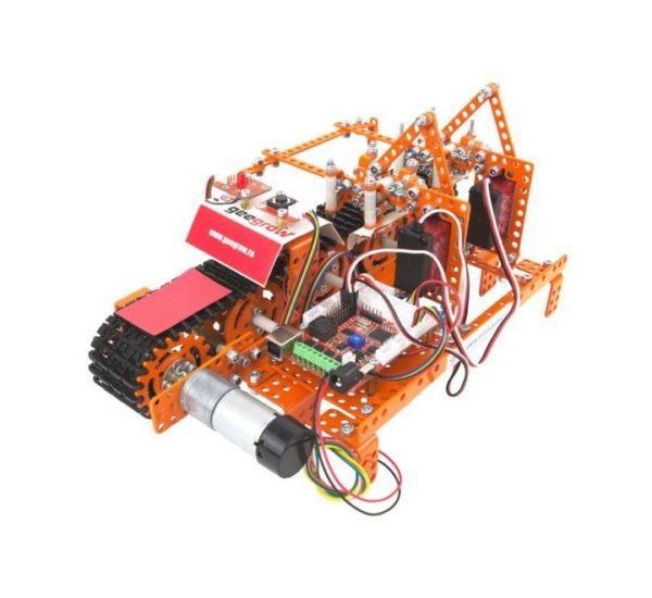 Ресурсный набор для изучения информационных систем и устройств учебных промышленных роботов вид 2