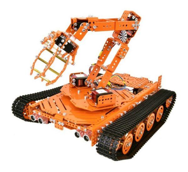 Ресурсный набор для изучения информационных систем и устройств учебных промышленных роботов вид 5