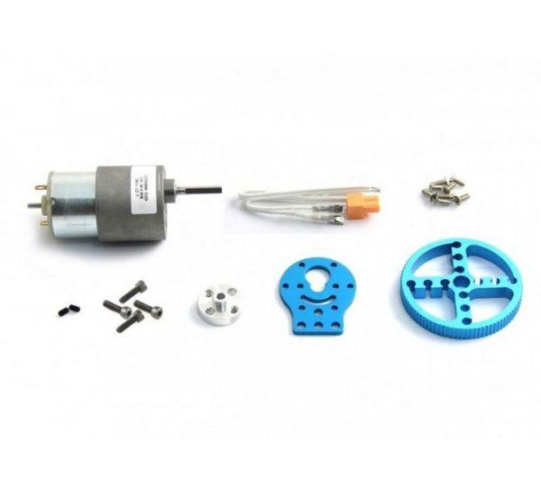 Ресурсный набор 37mm DC Motor Robot Pack-Blue