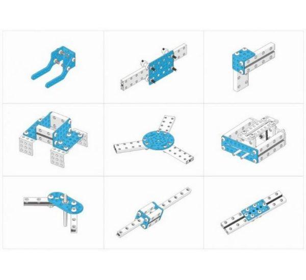 Ресурсный набор Bracket Robot Pack-Blue вид 2