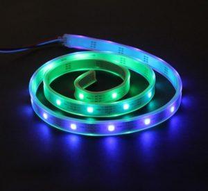 Лента LED с RGB-светодиодами 1м вид 1