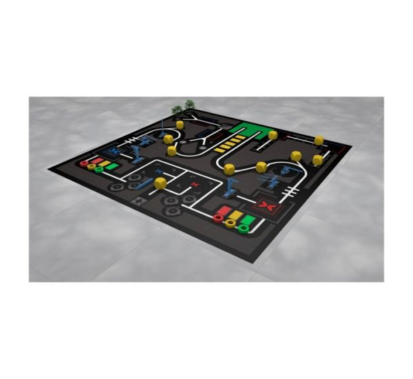 Соревновательное поле с элементами MakeX Stater Arenas Kit