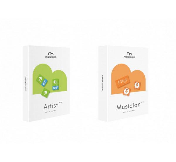 Ресурсный набор для программирования рисунка Matatalab Artist Add-on вид 1