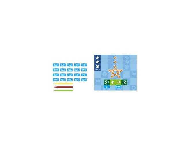 Ресурсный набор для программирования рисунка Matatalab Artist Add-on вид 3