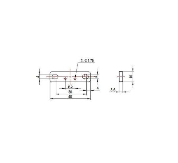 Датчик нажатия Me Micro Switch A вид 2