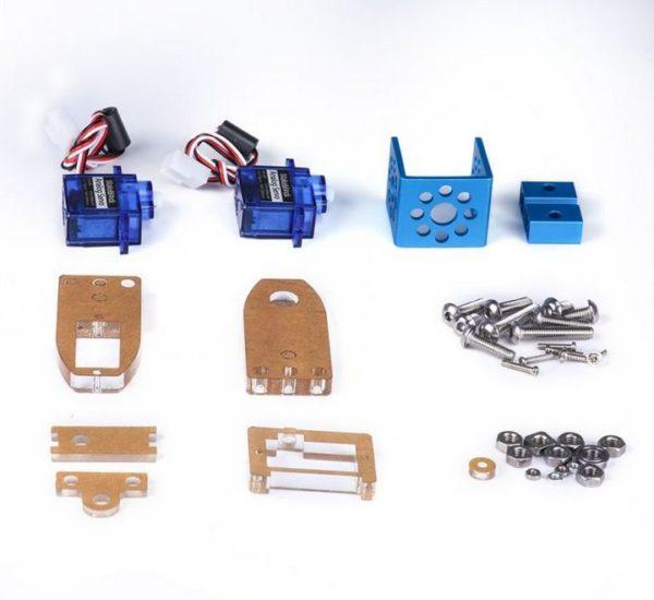 Ресурсный набор поворотный модуль Mini Pan-Tilt Kit вид 2
