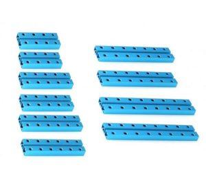 Ресурсный набор коротких балок Short Beam 0824 Robot Pack-Blue вид 1