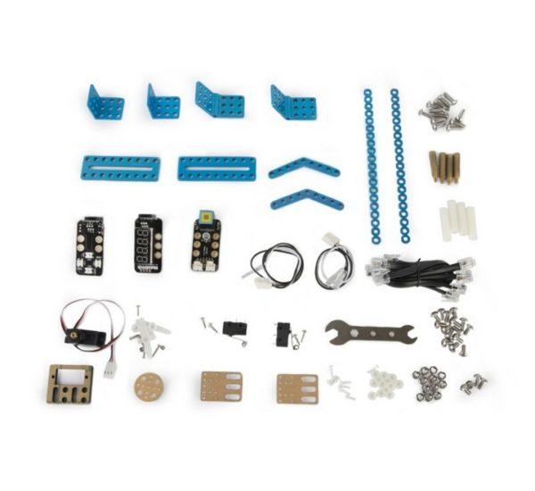 Расширеный базовый робототехнический набор mBot Classroom Kit (mBotV1.1+Gizmos Add-on Packs вид 1