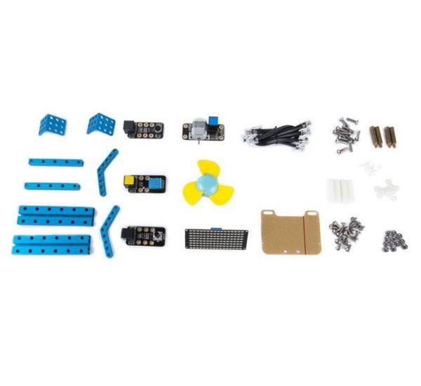 Расширеный базовый робототехнический набор mBot Classroom Kit (mBotV1.1+Gizmos Add-on Packs вид 8
