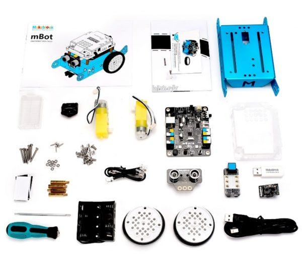 Робототехнический набор mBot v1.1-Blue (Bluetooth-версия) вид 2