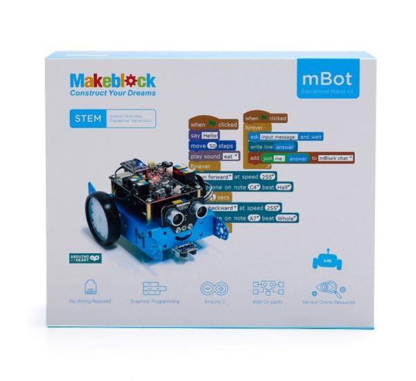 Робототехнический набор mBot v1.1-Blue (Bluetooth-версия) вид 6