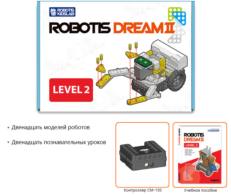 ROBOTIS DREAM Ⅱ Level 2 Kit