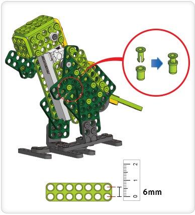 ROBOTIS PLAY 300 DINOs (Динозавры)