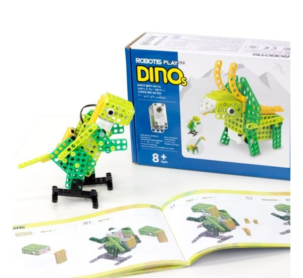 ROBOTIS PLAY 300 DINOs (Динозавры) вид 2